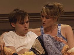 Mother and child reunion: Tobias Segal and Angela  Reed in After Ashley.