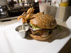A fast burger with fries makes H Burger a deal — at lunch, at least. See full H Burger slideshow.