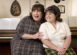 John Travolta and Nikki Blonsky needed to plus-size their Hairspray performances.