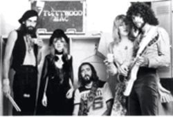 Don't stop thinking about yesterday: Lindsey  Buckingham and Fleetwood Mac, at the height of their  creative and commercial success.