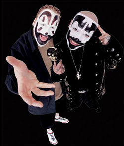 Violent J and Shaggy 2 Dope are the Insane Clown Posse.