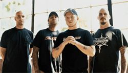The members of Hatebreed are hardcore to the bone.
