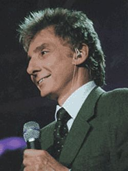 Barry Manilow stays hot.