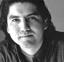 The non-stony-faced Sherman Alexie.