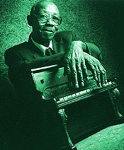 Sittin' on top of the world: Pinetop Perkins.