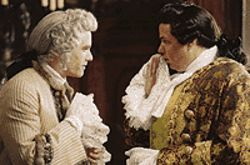 Heath Ledger is ready to kiss off his rival Oliver Platt 