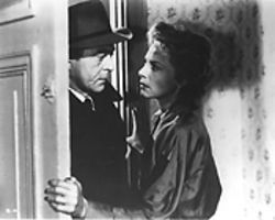 Jean Servais and Marie Sabouret in Rififi, a jewel of a movie.