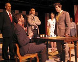 Chairmen of the board: In Chess, the cast  makes musical moves.