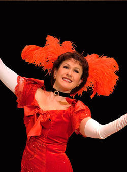 Alicia Dunfee as Dolly Levi in Hello, Dolly!