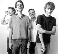 From the happy land of mud and honey: Matt Lukin, Steve Turner, Dan Peters and Mark Arm of Mudhoney.