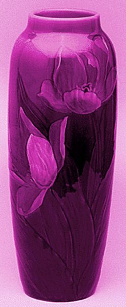 Rookwood vase by Sturgis Lawrence.
