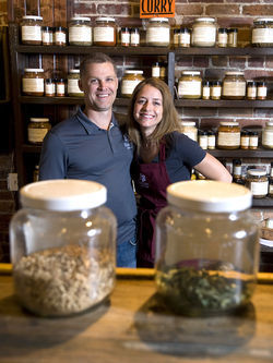 Mike and Janet Johnston started Savory Spice in 2004.