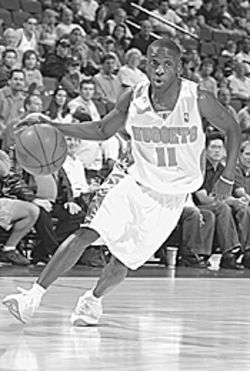 On guard: Earl Boykins is the heart and soul of this 