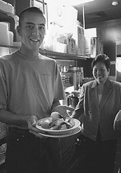 A taste for the past: Mike Reeves and Thuy Le serve  up a history lesson at Chez Thuy.
