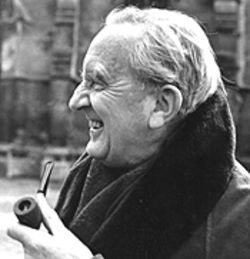 The late J.R.R.Tolkien.