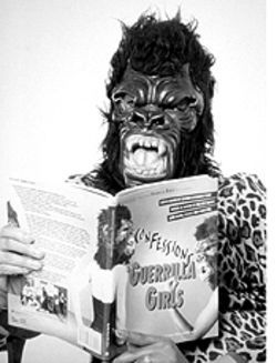Monkey business: The Guerrilla Girls take on the art world.