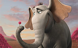 Horton Hears a Who! does Dr. Seuss justice.