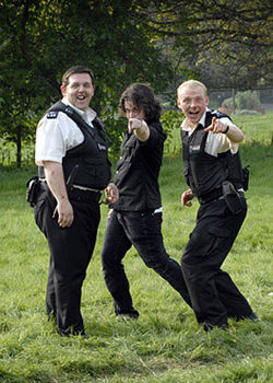 The joke's on everyone with the Hot Fuzz.