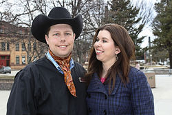 Troy and Stacy Hadrick hit the motivational-speaking circuit after Michael Pollan betrayed them with their own Steer No. 534.