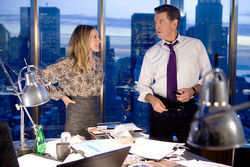 Sarah Jessica Parker and Pierce Brosnan star in I Don't Know How She Does It.