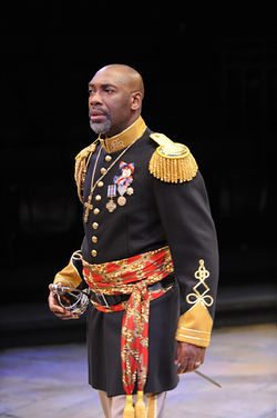 Robert Jason Jackson in Othello.