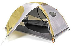 Enjoy some creature comforts in REI&#039;s Half Dome 2 HC Tent.