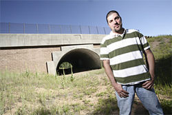 Biologist Chris Haas has studied wildlife crossings around the state, including this underpass on U.S. 285.
