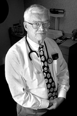 Pediatricians such as Dr. Lee Thompson are being 