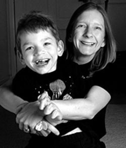 Paula Oborsh could lose benefits that provide home  care for her son, Nicholas.