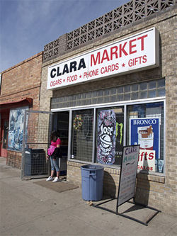 Everything you need is at Clara Market.