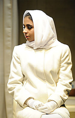 Mahira Kakkar plays a young Iraqi woman in the Denver Center's Inana.