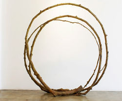 """Colorado Loop, #3,"" by Yoshitomo Saito, bronze."