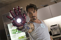 Robert Downey Jr. soars in Iron Man.
