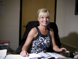 Bromwell principal Jody Cohn gave Mary Pishney her first negative evaluation.