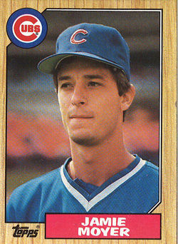 Jamie Moyer in 1986, his rookie year, before Wrigley Field had lights. Infographic: Pitcher Jamie Moyer has shut down the Rockies&#039; best hitters