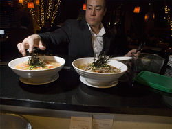 Owner Lawrence Yee. See photos of the menu options at Japoix.