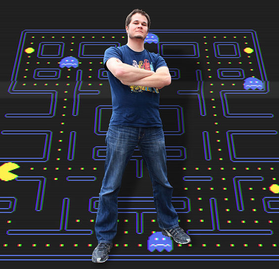 Jeff Pickles's quest for Pac-Man perfection