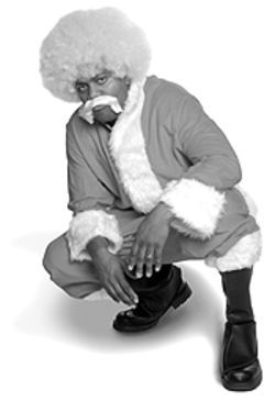 Harried Christmess: Christopher Todd Grundy is an angry Claus in Santa's Big Red Sack.
