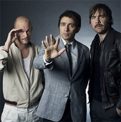 John, Peter and Bjorn of Peter Bjorn and John.