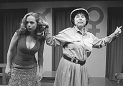 Kristina Denise Pitt and Sallie Diamond in Habeas  Corpus.