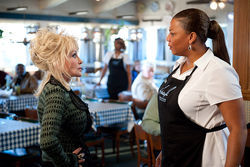 Dolly Parton and Queen Latifah star in Joyful Noise.