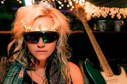 Ke$ha's a garish neon pillar of vapid excess.