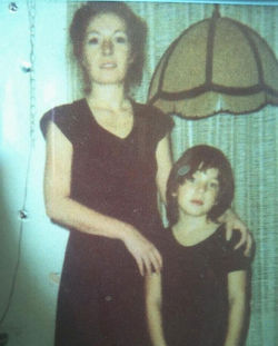 """""""They were each other's world"""": Franklin and her mother, Sandy Dilka, in the late 1970s. Dilka died of cancer last April. See also: In Memory of Kimmyan Franklin"""