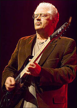 Fleet-fingered jazz master Larry Coryell.