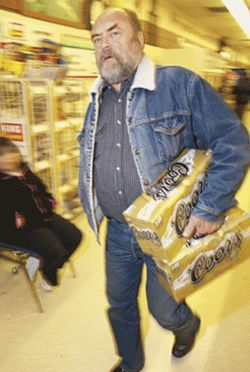 Lew Cady is a man who knows beer -- and he isn't  afraid to buy 3.2.