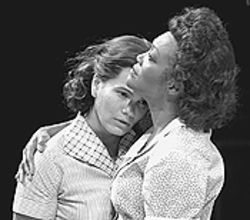 January LaVoy (left) and Candy Brown in A  Streetcar Named Desire.