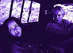 Killing time: Janeane Garofalo and Owen Wilson in The Minus Man.