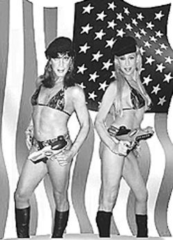 Only in America: Readers Heather and Daphne Starr.