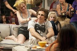 Brie Larson, Ben Stiller and Juno Temple in Greenberg.