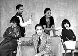 The cast of Italian American Reconciliation.